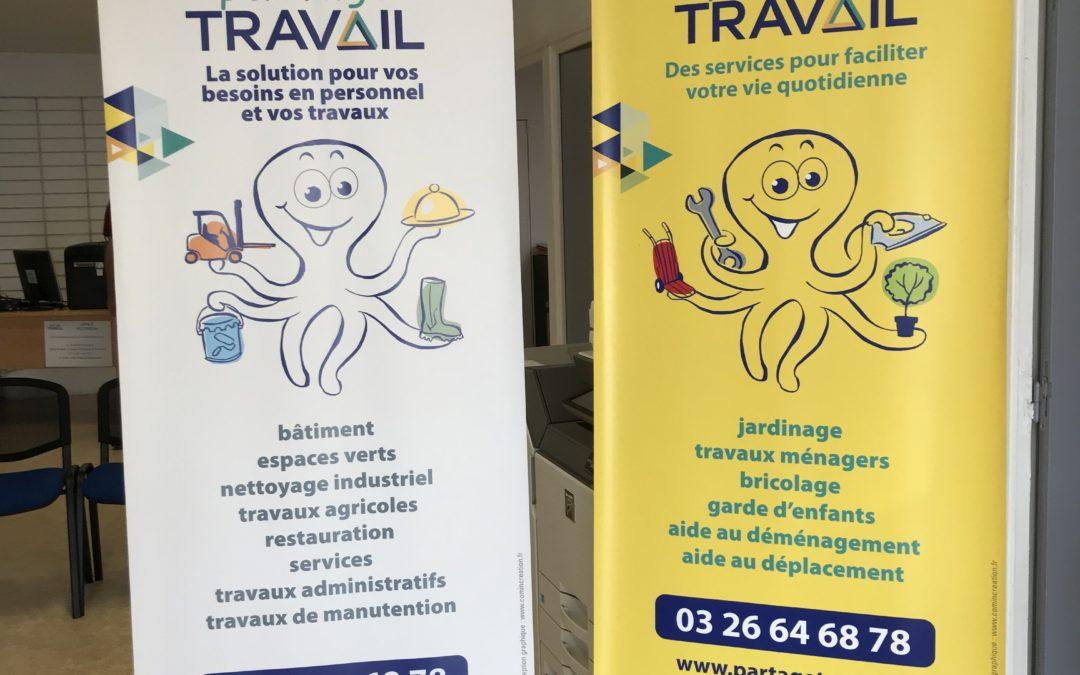 Partage Travail est présent au Forum des Associations au Capitole de Chalons en Champagne