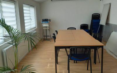 Notre nouvelle salle de réunion